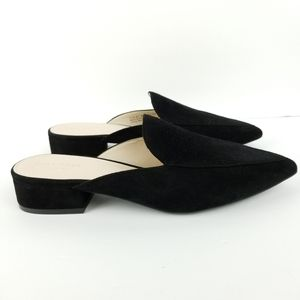 Cole Haan Piper Mules Grand OS in Black Suede